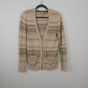 Rubbish cardigan sweater size S colors light pink